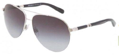 Sicily Dolce Gabbana (Dolce and Gabbana 05/8G Silver 2115 Sicily Aviator Sunglasses Lens Category)