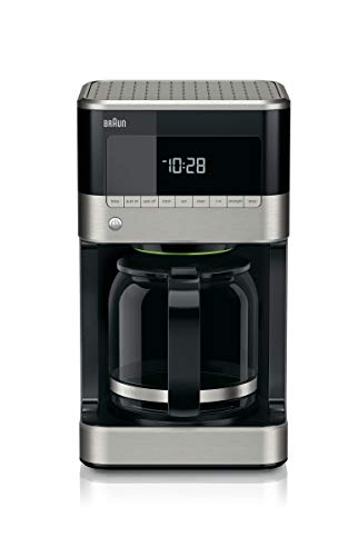Braun KF7150BK Brew Sense Drip Coffee Maker, Black (Certified Refurbished)