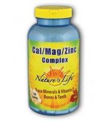 Vie Cal Nature / Mag / Zinc, 1000/600/15 Mg, Trace minérale et vitamine D, 250 comprimés