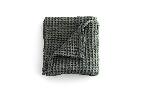 (Cloud Blanket - Woodland Pine- 100% Cotton Waffle Baby Blanket)