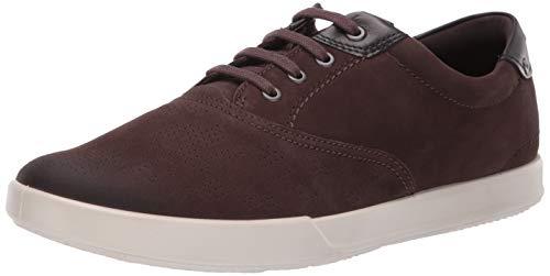 ECCO Men's Collin 2.0 CVO Tie Sneaker Espresso/Black 46 M EU (12-12.5 US)