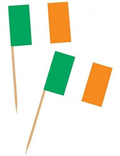 Irish Flag Picks 50 Per Pack]()