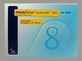 NF185275BX - Novo Nordisk NovoFine Autocover Pen Needle 30G x 8 mm (100 count)