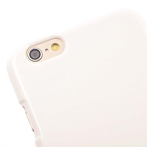 Phone Taschen & Schalen Für IPhone 6 u. 6S, Gelee schimmernder Puder TPU Fall ( Color : White )