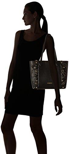 Love Moschino Borsa Vitello Smooth Nero - Borse Tote Donna black 10x28x42 Cm b X H T