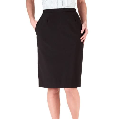 Cheap Ed Garments Women's Waistband Straight Skirt, BLACK, 18W supplier