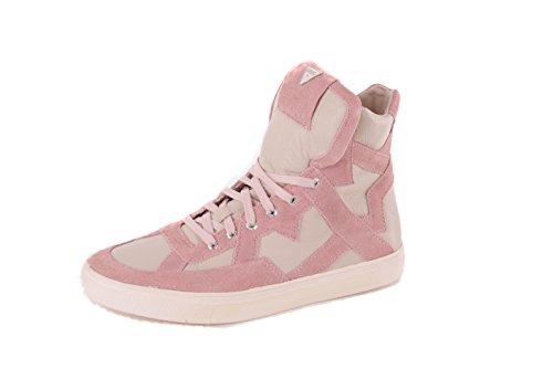 Boots Guess Sneaker Allacciata Donna Rosa 4xfTaw6q