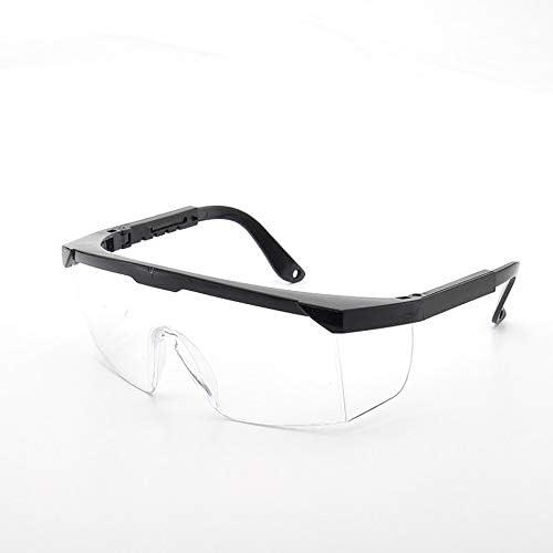 Feketeuki Ligero Hombres Mujeres A Prueba de Golpes Protección Laboral Industrial Gafas Anti láser Infrarrojo Gafas Protectoras Lentes de PC - Transparente