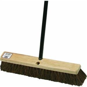 Garage And Patio Broom, 18'' PALMYRA PUSH BROOM by DQB (Image #1)