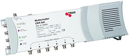 Triax Ckr5x6 Multischalter Mit Netzteil Elektronik