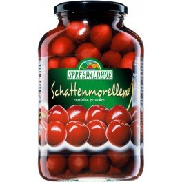 Spreewaldhof Schattenmorellen - Morello cherries in light syrup 680g