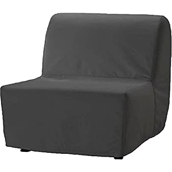 The Dense Cotton Lycksele Chair Bed Sofa Replacement is Custom Made for Ikea Lycksele Single Sleeper Or Futon. A Lycksele Single Seat Slipcover ...