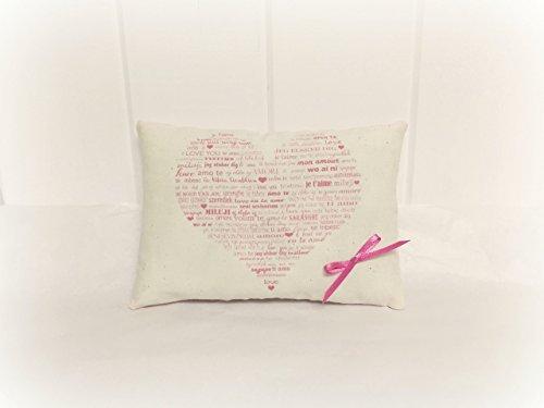 Valentine's Pillow - Pink Heart (Valentine Tuck)