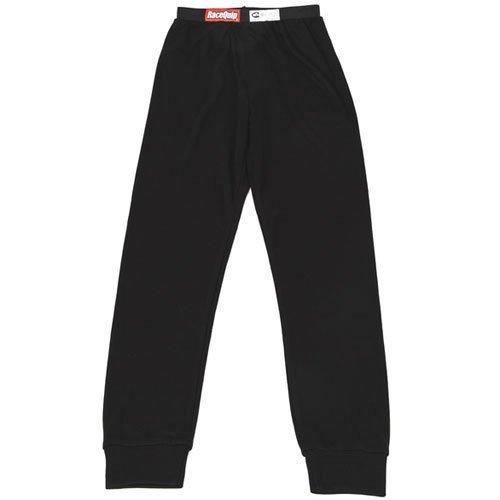 RACEQUIP/SAFEQUIP Underwear Bottom FR Black Large SFI 3.3