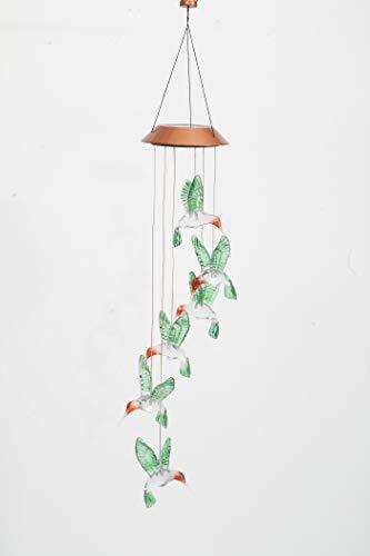 Evergreen Hummingbird Solar Mobile Windchime