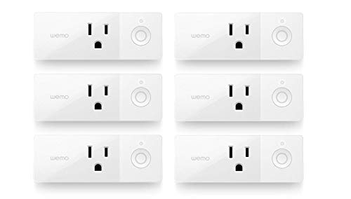 Wemo Mini Smart Plug, Wi-Fi Enabled, Compatible with Alexa (F7C063-RM2) (6 pack)(Certified Refurbished) by WeMo (Image #6)