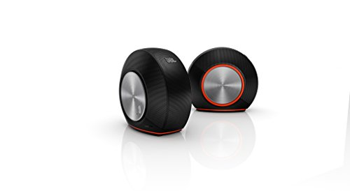 JBL Pebbles Plug and Play Stereo Computer Speakers - Black