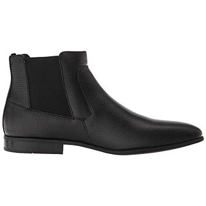Calvin Klein Men's Christoff Epi Leather Chelsea Boot, Medium 6