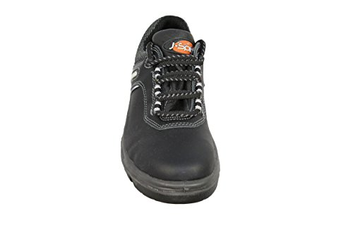 jallatte J de Spirit S3Ci Business Zapatos de trabajo Guantes plano negro B-Ware Negro - negro