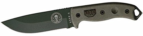 ESEE-5-Plain-Edge-OD-Blade-with-Kydex-Sheath