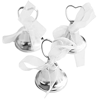 Silver Bell Place Card Holders For Table Numbers Restaurant Menu Weddings Party Decoration