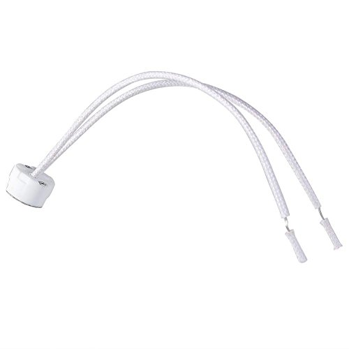 Aquiver Newest MR16 Socket LED Lamp halogen Light Holder Base Ceramic Wire Connector, 1pcs (M16 Base)