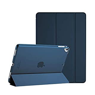 ProCase iPad Pro 12.9 2017/2015 Case (Old Model, 1st & 2nd Gen), Ultra Slim Lightweight Stand Smart Case Shell with Translucent Frosted Back Cover for Apple iPad Pro 12.9 Inch –Navy