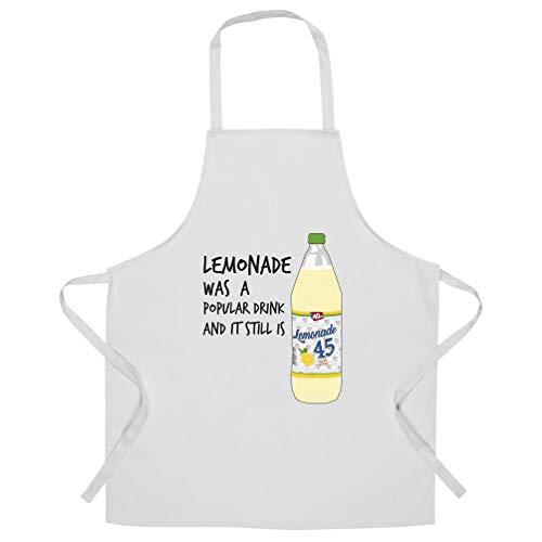 Gangstarr Chefs Apron Lemonade Was A Popular Drink White One Size