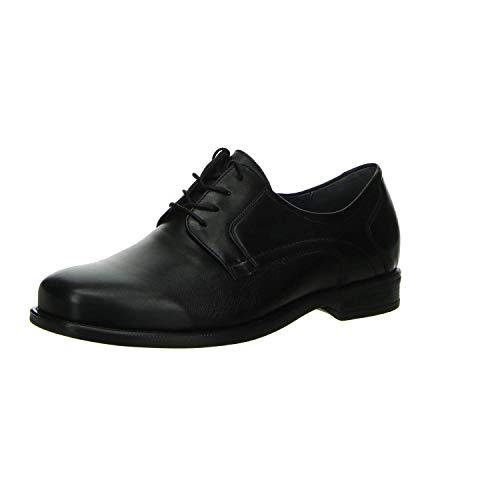 lacets ville 001 Chaussures à de 641001149 Waldläufer Noir homme pour 5qI6YHY