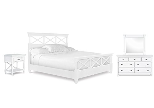 (Magnussen Kasey Bedroom Set with King Bed, Nightstand, Dresser and)