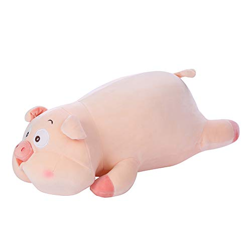 Muabobo Pig Plush Stuffed Animal Toy Hugging Pillow 17.7
