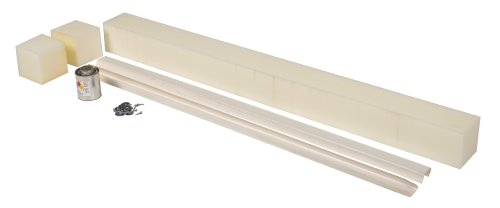 Vestil WS-5-RV Replaceable Vinyl Weather Stripping for Pit Mounted Dock Leveler, 50'' Pit Length, 42'' Strip Length by Vestil