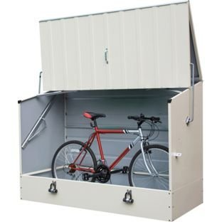 Trimetals Protectacycle Garden Bike Storage.