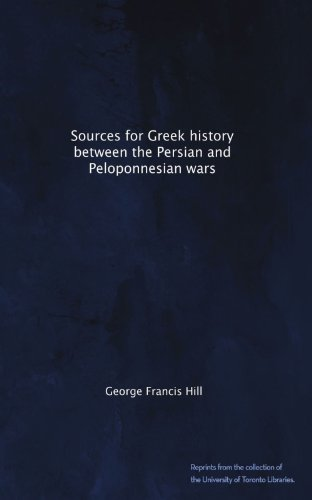 Sources for Greek history between the Persian and Peloponnesian wars