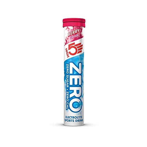 HIGH5 ZERO Electrolyte Hydration Tablets Added Vitamin C – (Berry, 20 Tab Tube)