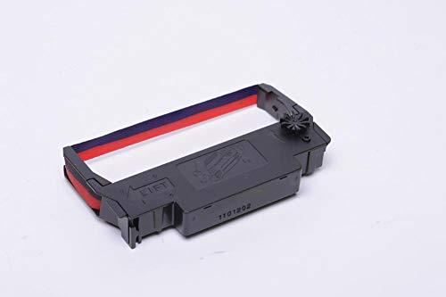 (Travis Technologies Compatible Printer Ribbon Replacement for 120 EPSON ERC-30 / ERC-34 / ERC-38 Ribbons - Purple/Red ERC-30PR /ERC-34PR /ERC-38PR)