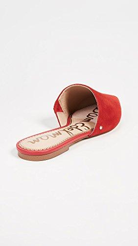 Sam Red Women's Edelman Candy Mule Rumi qXYYOgxr