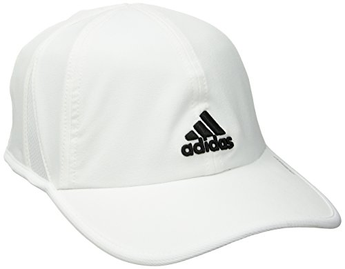 Tennis Mens Hat (adidas Men's Adizero II Cap, White/Black, One Size)