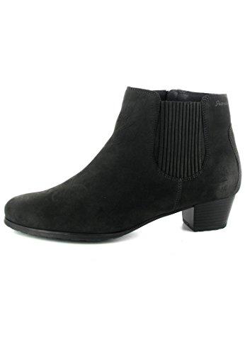SALE - SIOUX - Feima-WF - Damen Chelsea Stiefeletten - Grau Schuhe in Übergrößen