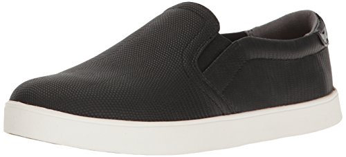 Dr. Scholl's Shoes Women's Madison Fashion Sneaker, Black Lizard Print, 9 M US