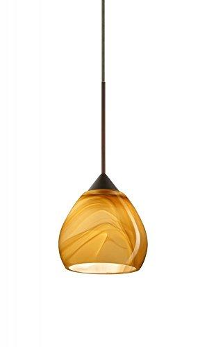 Tay Tay 1 Light Mini Pendant Finish: Bronze, Bulb Type: LED ()