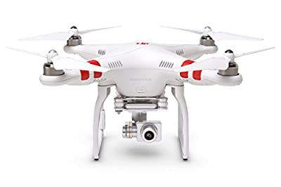 DJI Phantom 2 Vision+ V3.0 Quadcopter with FPV HD Video Camera and 3-Axis Gimbal (White) by Beyond Solutions