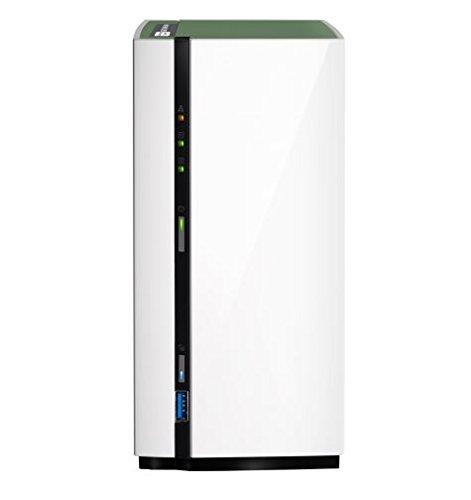QNAP TS-228A Ethernet Torre Blanco NAS - Unidad Raid (20 TB, Unidad de Disco Duro, Unidad de Disco Duro, SSD, Serial ATA III, 10000 GB, 3.5