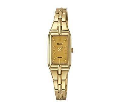 Seiko Women's Goldtone Solar Dress Watch