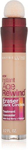 Maybelline Instant Age Rewind Eraser Dark Circles Treatment Concealer, Medium .2 oz (Pack of 2)