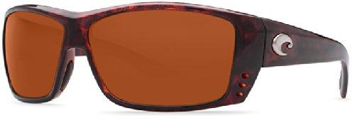 Costa Del Mar Cat Cay Sunglasses, Tortoise/Copper 580 Plastic