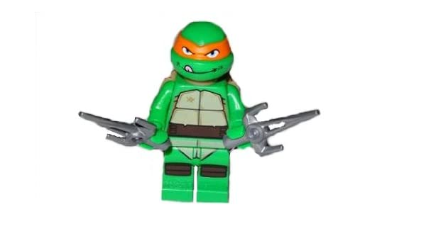 Amazon.com: LEGO TMNT - Michelangelo Minifiguren Teenage ...