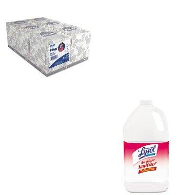 KITKIM21271RAC74389 - Value Kit - Professional LYSOL No Rinse Sanitizer (RAC74389) and KIMBERLY CLARK KLEENEX White Facial Tissue (KIM21271)