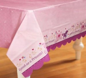 Sofia Sophia the 1st Birthday First Princess Party Supplies TableCover 54 x 96