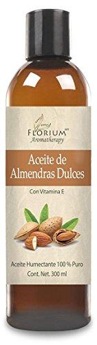 Florium - Aceite de Almendras Dulces Para Hidratación y Masaje 300 ml